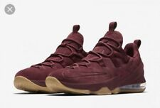 Nike Lebron XIII Low PRM Basketball Shoes Men's Size 10 Team Red [AH8289 600]