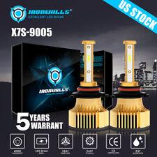 New listing 4 Sides 9005 Hb3 H10 9140 9145 Led Headlight Kit 2500W 6000K 375000Lm Bulbs