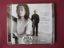 MOZART SONATAS FOR PIANO AND VIOLIN MITSUKO UCHIDA . MARK STEINBERG SACD 4756200