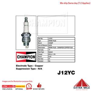 J12YC Copper Plus Spark Plug for VAUXHALL VICTOR