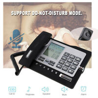 Fixed Home Office Desktop Telephone Landline Phone Voice Setting Caller ID
