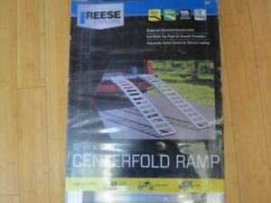 "Reese Explore 90"" Center Fold 750 lbs Capacity Aluminum Loading Ramps 9515000"