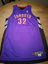 TORONTO RAPTORS GARTH JOSEPH #32 ROAD PURPLE PRO JERSEY NBA FINALS NIKE RARE WOW