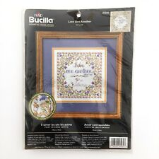 Bucilla Love One Another Counted Cross Stitch Kit #43265 Religious Wedding Gift