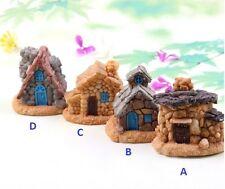 Miniature Fairy Garden Stone Cottage Terrarium House Accessories (Fast Shipping)