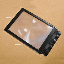 Economic A4 Giant Assisted Reading Magnifying Glass Sheet 3X Magnifier GT