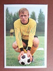 Siegfried Held Borussia Dortmund 68/69 Bergmann Sammelbild signiert ungeklebt