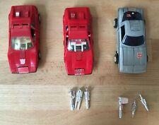Vintage Transformers CAMSHAFT & OVERDRIVE (2X) 1984 G1 Mail-Away Omnibot Lot