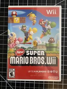 New Super Mario Bros. Wii (Nintendo Wii) Brand New, Factory Sealed NM