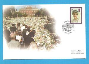 Queen Elizabeth II F D C 3/2/1998 Lady Diana