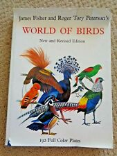 James Fisher & Roger Tory Peterson's World Of Birds Orioles Finch Swallow Swifts