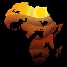 African Animals Sahara Bush Wildlife Vinyl Sticker