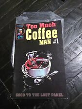 Too Much Coffee Man #1 VF Comic Book