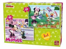 King Puzzle Disney 2in1 - (24,50 Piece Jigsaw ) - Minnie Bow-tique 	 KNG05414