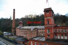 PHOTO  2006 MASSON MILL MATLOCK BATH THE VIEW OF THE OLD PART WITH SIR RICHARD A