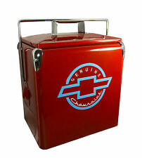 Classic Chevrolet Picnic Cooler American Retro Red