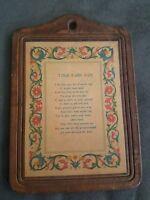Primitive Brown Jack Rabbit Hare Wood Colonial Folk Art Sign Tavern PNPN032719