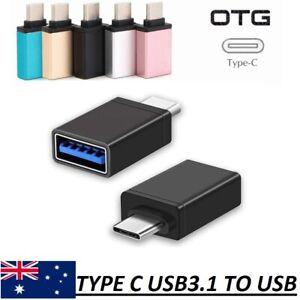 USB C USB 3.1 Type C to USB 3.0 A Converter OTG Adapter For S8 Nexus 5x 6P Pixel