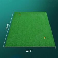 Indoor Backyard Golf Mat Training Hitting Pad Practice Rubber Tee Holder Grass