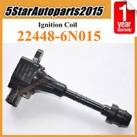 22448-6N015 Ignition Coil For 2001-2006 Nissan Sentra 1.8 Almera N16 Primera P11