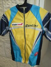 """Size S Santini GoreTex WindStopper Cycling Jersey *Made in Italy"""", Full Zipp"""
