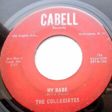 COLLEGIATES rock'n'roll 45 MY BABE I CAN'T GET YOU OUT OF MY MIND strong VG F665
