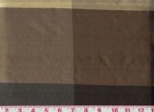100% Silk Dupioni Plaid Drapery Fabric American Silk Mills Bengal CL Twilight