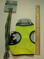 Dog Leash And Dog Harness Medium Size. Summer harness, very beautiful dog harnes