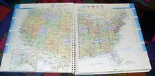 USA Canada MEXICO - Road Atlas (Strassenatlas) - 288 Seiten - Michelin