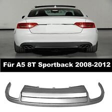 Duplex Diffusor für A5 8T Sportback Coupe Cabrio Wabengrill gitter S5 RS5 look 3