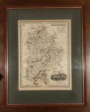 Renfrewshire Old County Map by Johan Blaeu 1654