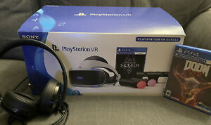 Sony PlayStation VR The Elder Scrolls V: Skyrim VR Bundle w/ PS4 Gold Headset +