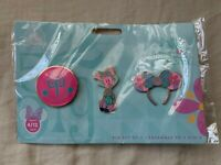 Minnie Mouse Main Attraction Pin Set Disney Its A Small World Limited Brand New