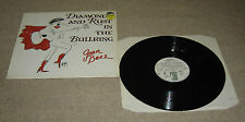 Joan Baez Diamonds & Rust In The Bullring Vinyl LP Rare - EX