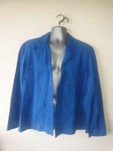 "Ex-rental Welding jacket+bib&braces FR size L 42"" chest, 38"" waist,knee pads#727"
