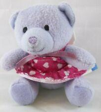 2007 McDonald's BAB Build a BEAR Workshop MINI Lavender NIKKI'S BEAR III Teddy