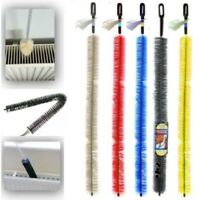 Long Handle Easy Reach Radiator Cleaning Bristle Brush Dust Duster Cleaner 70CM