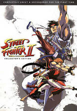 Street Fighter II: The Animated Movie (DVD, 2015)