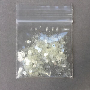 Tiny Round Sequins/ Flat 1000 x 3 mm, in 7 colours.  Sewing/Wedding/Crafts/DIY.