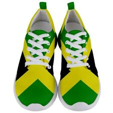 best New Jamaica Jamaican flag Men's Athletic Sports Shoes Free Shipping