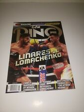 The Ring Magazine Jorge linares Vs. Vasyl Lomachenko Signed By Linares Only