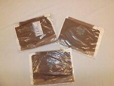 Lot of 3 Pair Vtg New Gaymode Seamless Taupe Nylon Garter Stockings 10.5 Long