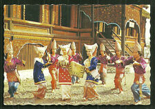Minangkabau Dance of Tribute Costume Sumatra Indonesia stamp