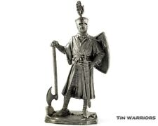 Germany. Knight 1200y Tin toy soldiers. 54mm miniature figurine. metal sculpture