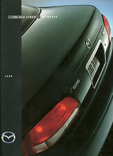 1998 MAZDA 626 Sedan Brochure / Catalog with Color Chart: DX, LX, ES, V6, V-6,98