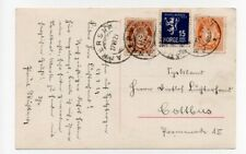 NORWAY/POLAR/ARCTIC: Postcard to Germany 1929. Cancelatonl Ankershamn.