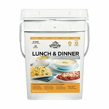 Augason Farms Lunch Dinner Pail Kit Beef Potato Soup Vegetable Stew Macaroni etc