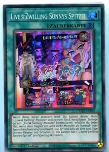 Yu-GI-OH Live Zwilling Sunnys Spitzel Super Rare DAMA-DE062