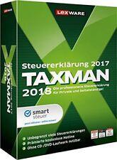 Lexware Taxman 2018 für das Steuerjahr 2017