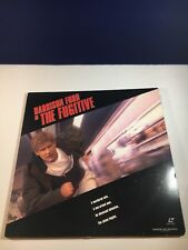 The Fugitive Laserdisc Widescreen Edition Harrison Ford Action Thriller